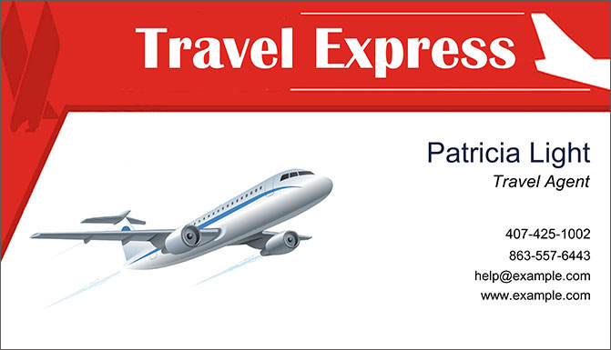 Travel agent business cards premium quality designs travel business card in the form of a flight ticket colourmoves