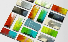 Business cards ideas - a pile of business cards