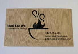 Business cards ideas - textured business card
