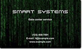 IT business card idea
